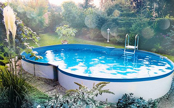 fertigpool zum teileinbau schwimmbad und saunen. Black Bedroom Furniture Sets. Home Design Ideas