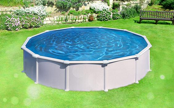 Stahlmantelbecken mypool for Pool rundbecken